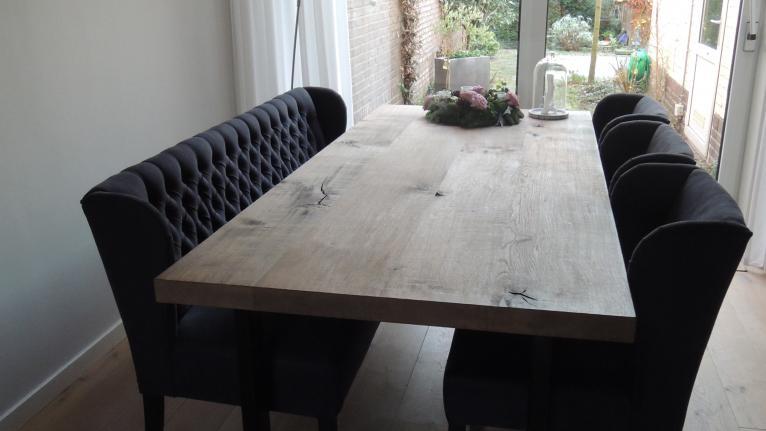 Eiken Tafels Schijndel : Eiken tafels schijndel mister tafel industriele eiken tafel