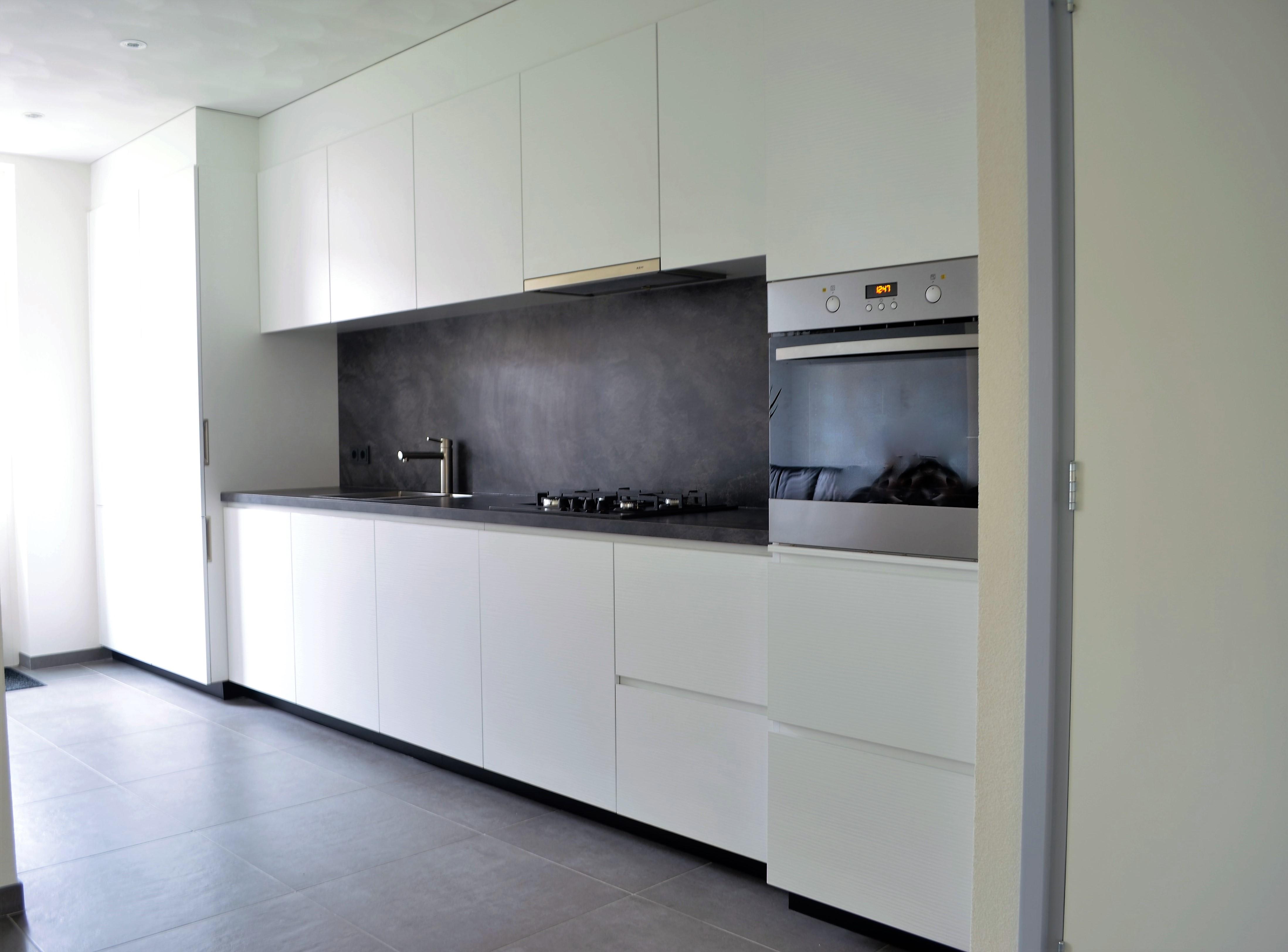 Keuken strak van kaathoven interieurbouw